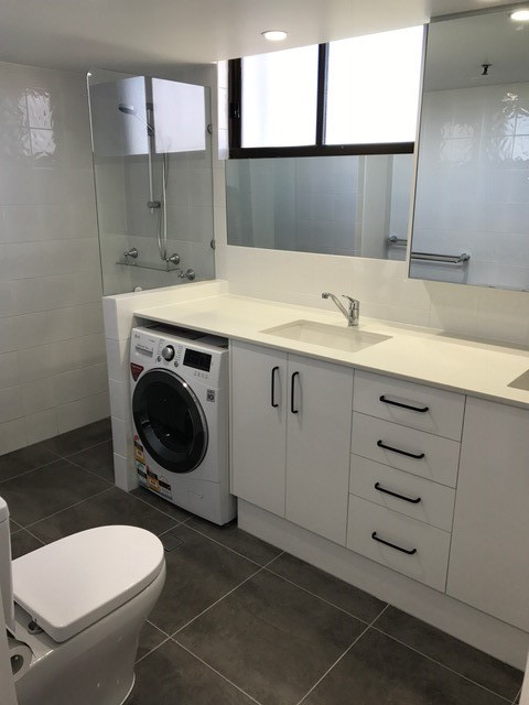 bathroom and laundry renovation