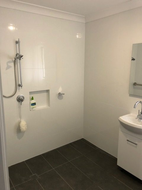 wet room renovation